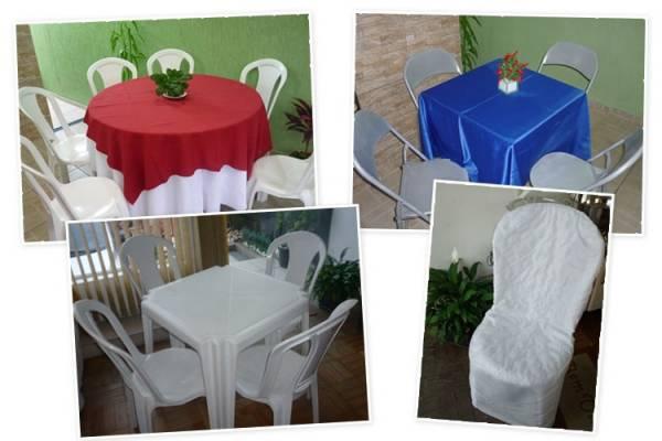 BJ Festas Aluguel de Mesas, Cadeiras, Toalhas, Capas e Tendas 1