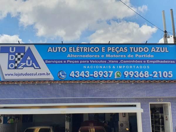 Auto Elétrico e Peças Tudo Azul 1
